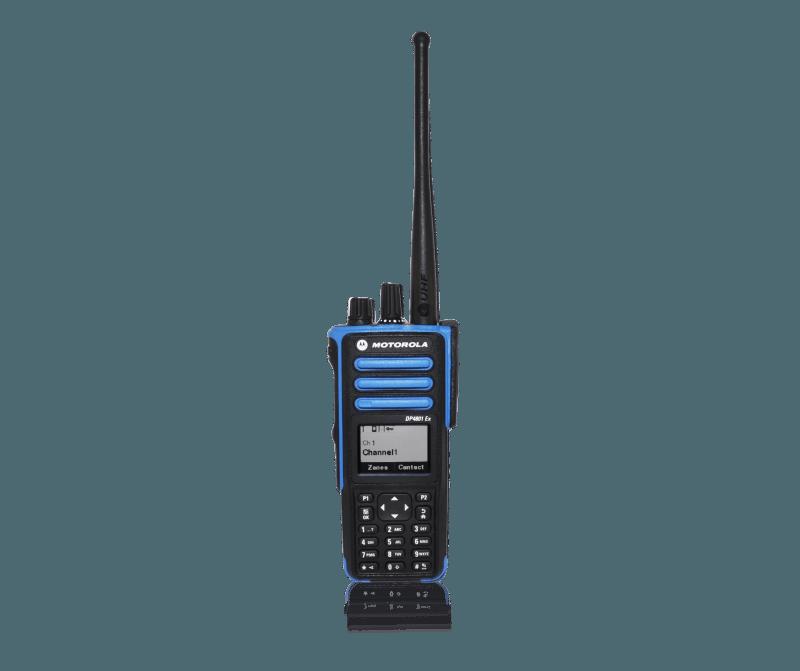 Motorola DP4801 EX front
